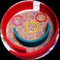 Rainbow Rice Face